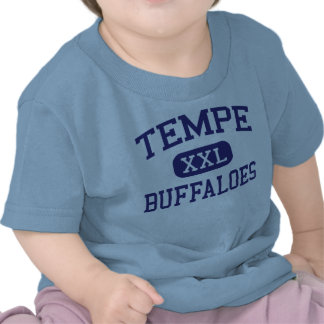 Tempe - búfalos - High School secundaria - Tempe Camiseta