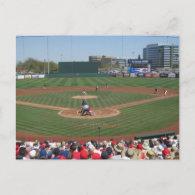 Tempe Diablo Stadium Postcard