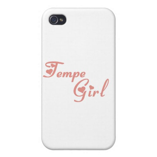 Tempe Girl tee shirts iPhone 4 Cover