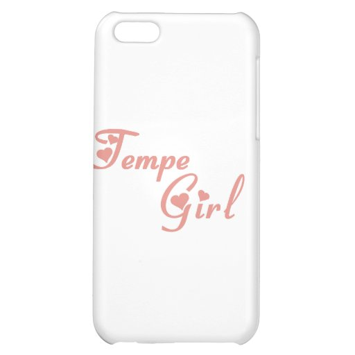 Tempe Girl tee shirts Case For iPhone 5C