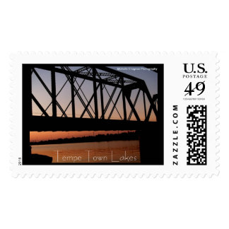 Tempe Town Lakes Postage Stamps