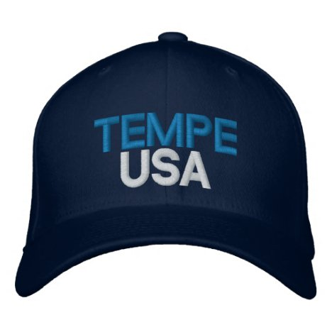 Tempe USA Embroidered Baseball Cap