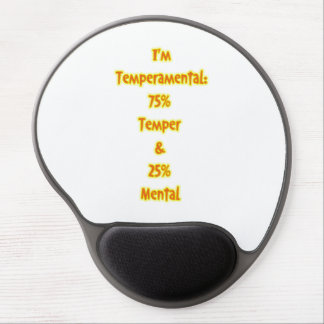 Temperamental Gel Mouse Pad