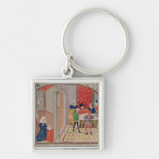 Temperance and Intemperance Keychain