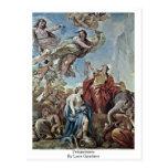 Temperance By Luca Giordano Postcard