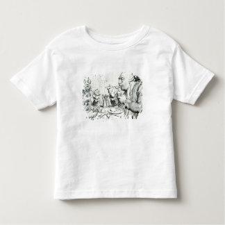 Temperance Enjoying a Frugal Meal Toddler T-shirt