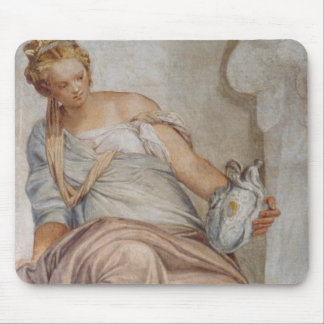 Temperance, from the wall of the sacristy (fresco) mousepad