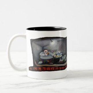 Temperance- Gluttony Two-Tone Coffee Mug