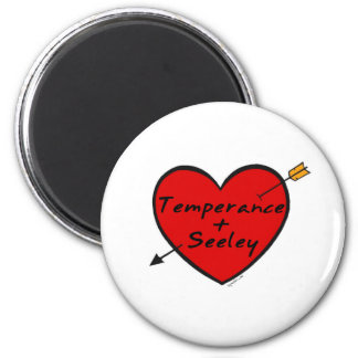 Temperance & Seeley 2 Inch Round Magnet