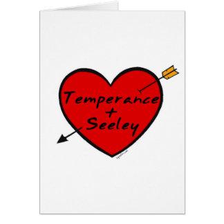 Temperance & Seeley Card