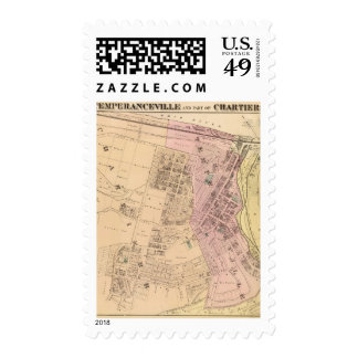 Temperanceville, Chartiers Postage Stamps