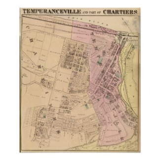 Temperanceville, Chartiers Posters