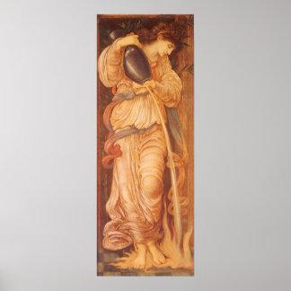 Temperantia de Burne Jones, arte del Victorian del Impresiones