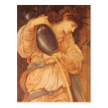 Temperantia de Burne Jones, arte del Victorian del Postal