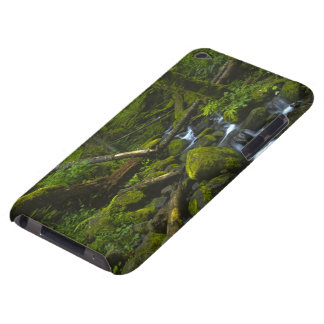Temperate Rainforest Stream in Columbia River iPod Touch Cover