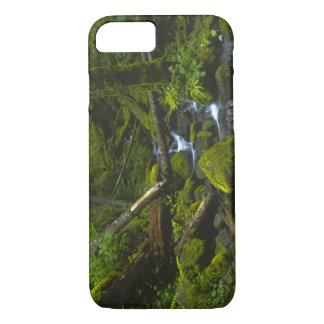 Temperate Rainforest Stream in Columbia River iPhone 7 Case