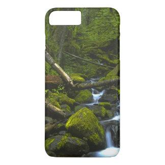 Temperate Rainforest Stream in Columbia River iPhone 7 Plus Case