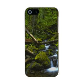 Temperate Rainforest Stream in Columbia River Metallic Phone Case For iPhone SE/5/5s