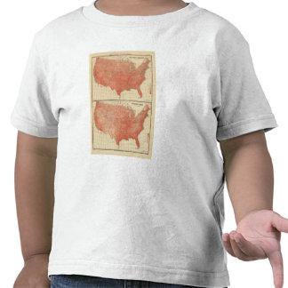 Temperatura de publicación anual mala, bosquejo camisetas