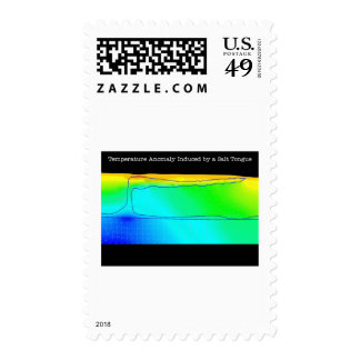 TEMPERATURE ANOMOLY POSTAGE STAMP