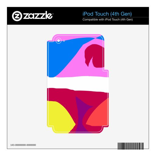 Temperature Decals For iPod Touch 4G
