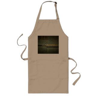 Temperature scale long apron