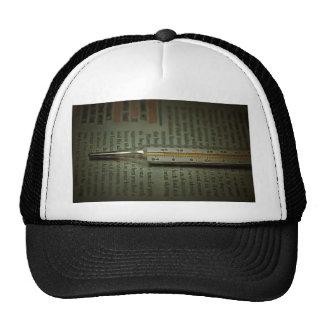Temperature scale trucker hat
