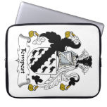 Tempest Family Crest Laptop Computer Sleeves