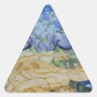 Tempest in progress triangle sticker