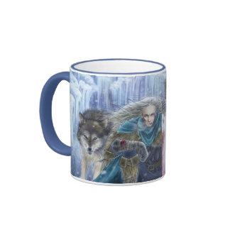 Tempest of Ice Fantasy Art Mug
