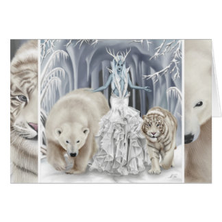 Tempest of Ice - Greeting Card