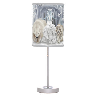 Tempest of Ice - Table Lamp