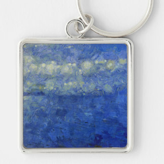 Tempest over the water keychain