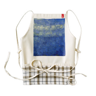 Tempest over the water zazzle HEART apron