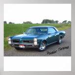 Tempestad 1966 de Pontiac Poster