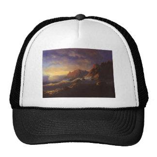 Tempestad de Ivan Aivazovsky-. Puesta del sol Gorras