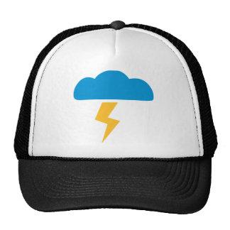 Tempestad de truenos de la nube gorras