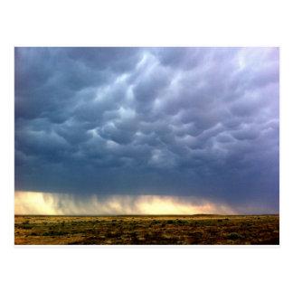 Tempestad de truenos postal