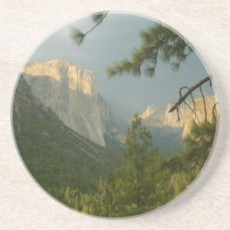 Tempestad de truenos sobre el valle de Yosemite Posavasos Manualidades