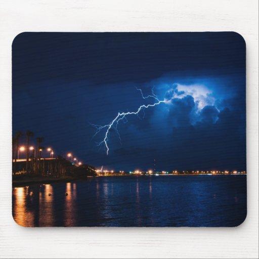 Tempestad de truenos sobre Miami - Mousepad Tapetes De Raton