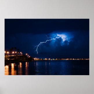 Tempestad de truenos sobre Miami - poster