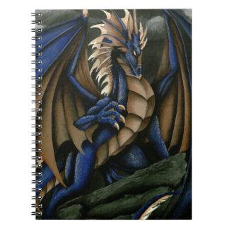 Tempestad de truenos spiral notebook