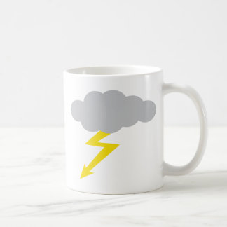 tempestad de truenos taza