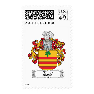 Tempi Family Crest Stamps