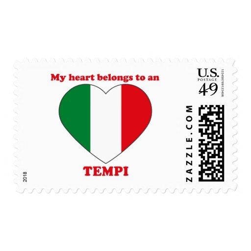 Tempi Postage Stamp