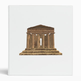 Tempio della Concordia Temple of Concord: Binders