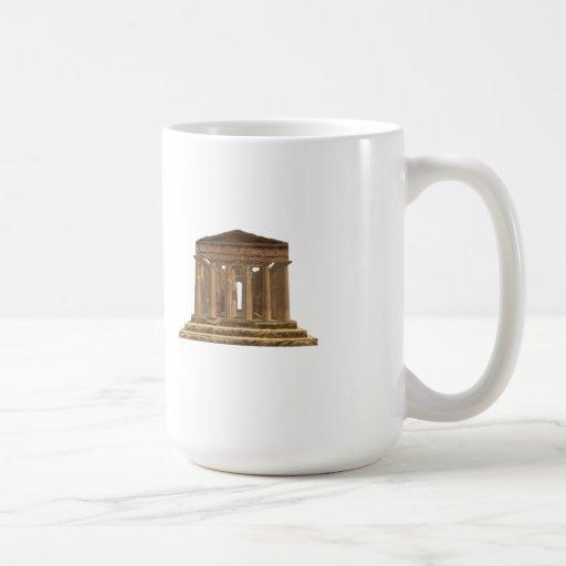 Tempio della Concordia: Temple of Concord: Coffee Mug