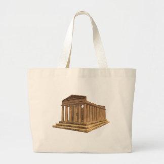 Tempio della Concordia: Temple of Concord: Large Tote Bag