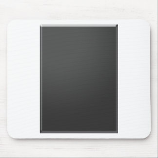 Templante DIY Blank Add Text in WHITE add photo Mouse Pad