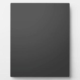 Templante DIY Blank Add Text in WHITE add photo Plaque